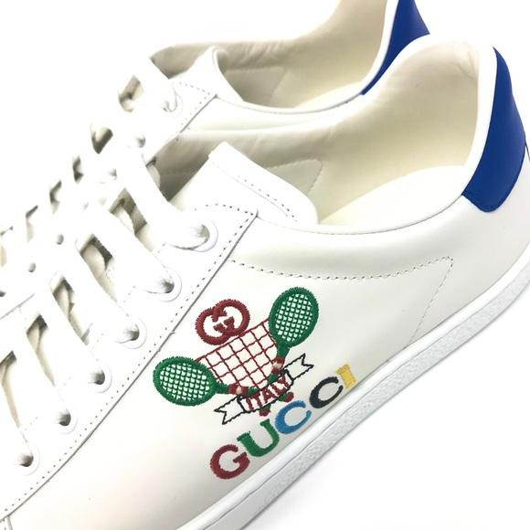 NIB Gucci Women's Ace Sneaker with Gucci Tennis